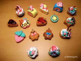 dessert charms by hleexyooj