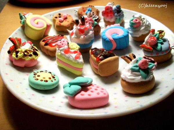 Dessert Clay Charms By Hleexyooj On Deviantart