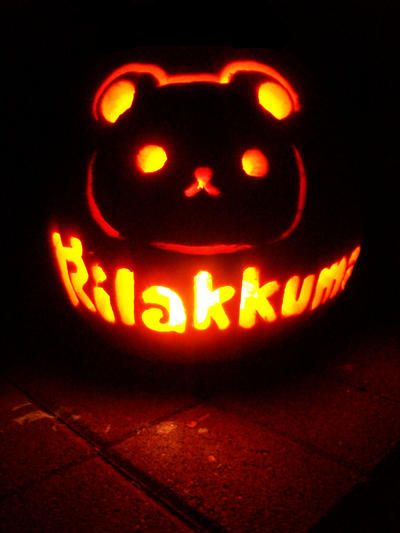 Rilakkuma Pumpkin by hleexyooj