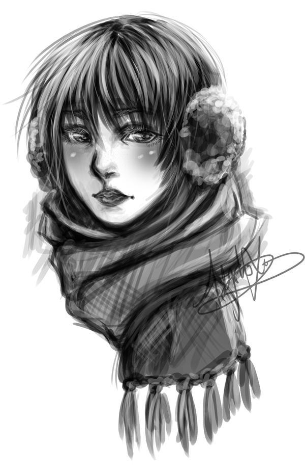 scarf by hleexyooj