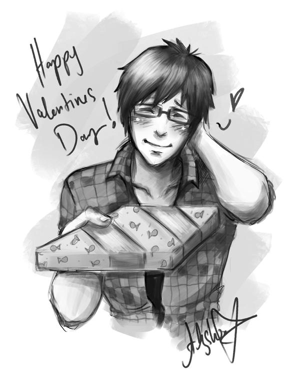 Mako Valentines Day ~ by hleexyooj