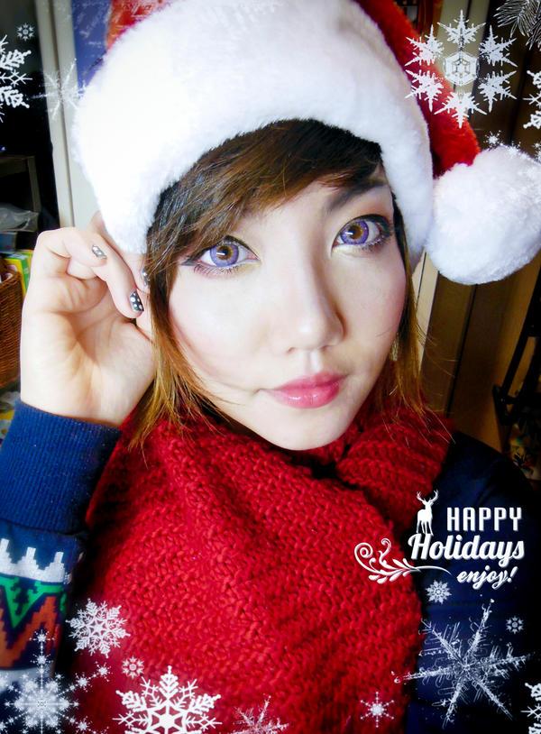 Happy Holidays 2014 ~! by hleexyooj