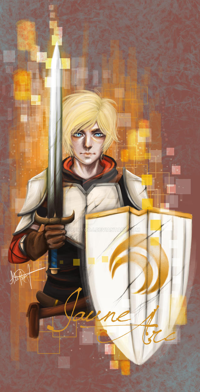 Jaune Arc by hleexyooj