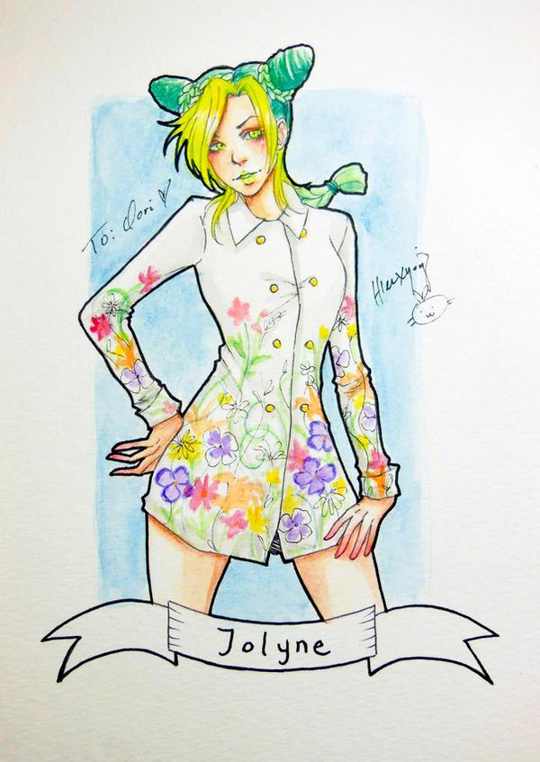 Jolyne Kujo Gucci by hleexyooj
