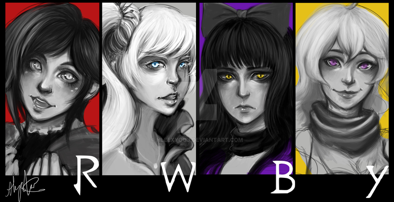 Team RWBY by hleexyooj