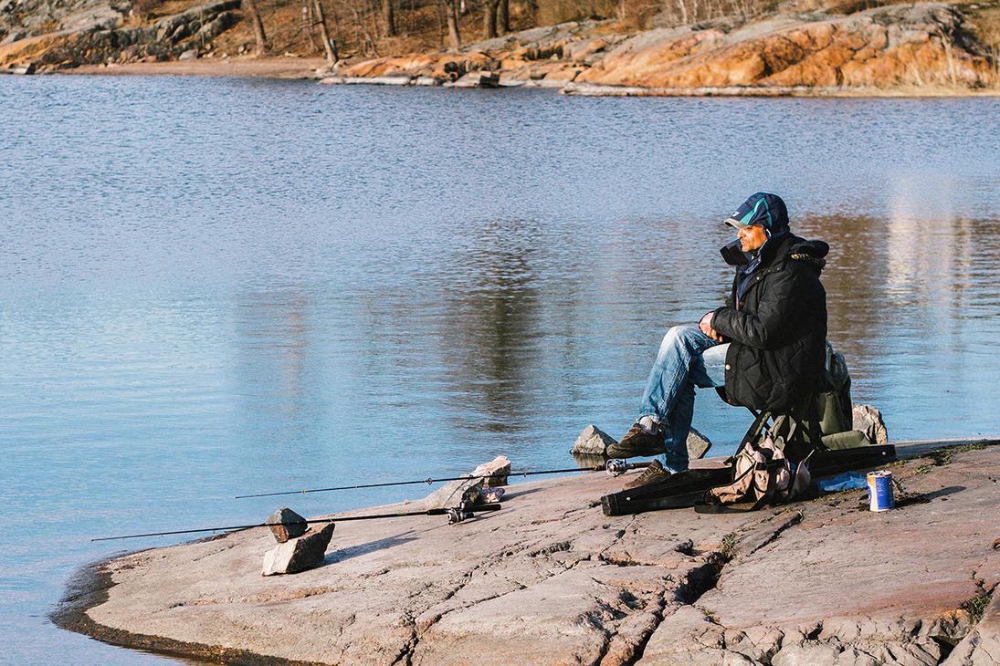 за рыболовными товарами в финляндию