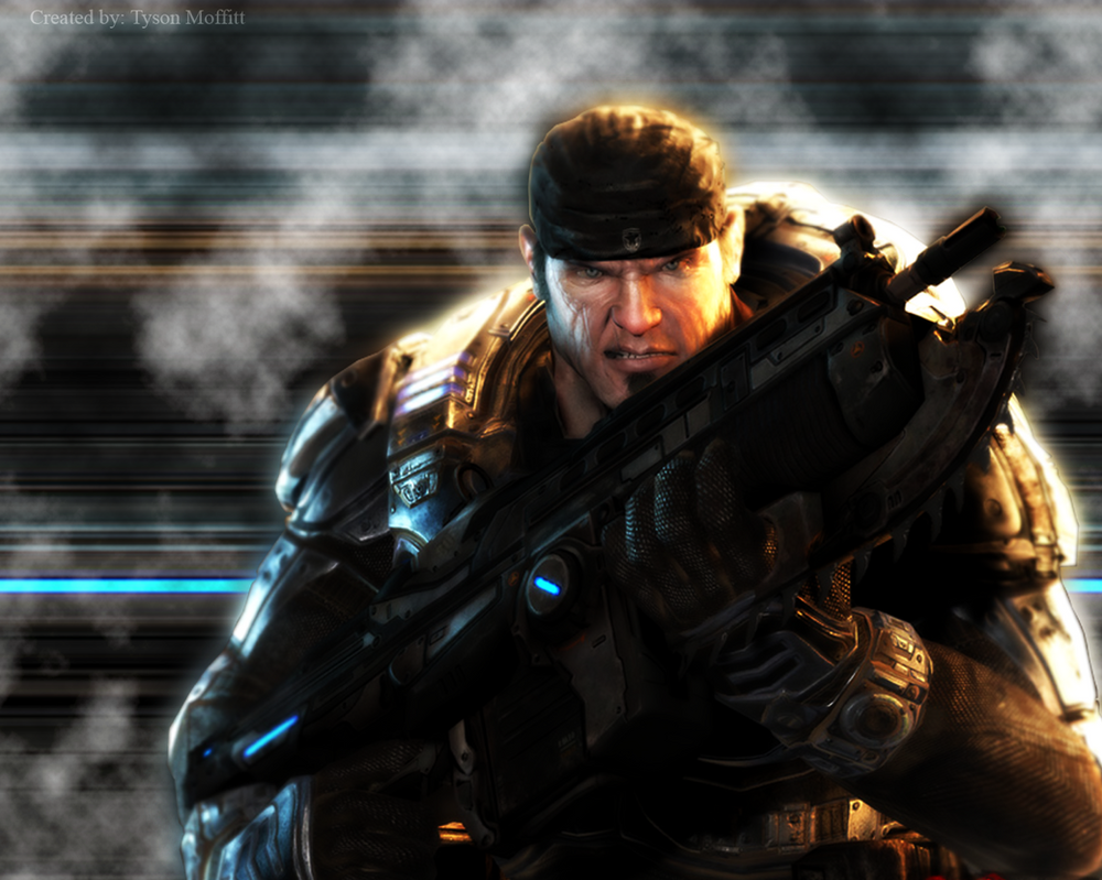 Fantastic game Gears of War wallpaper