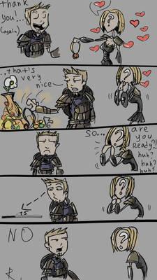 Dragon age, poor Alistair.