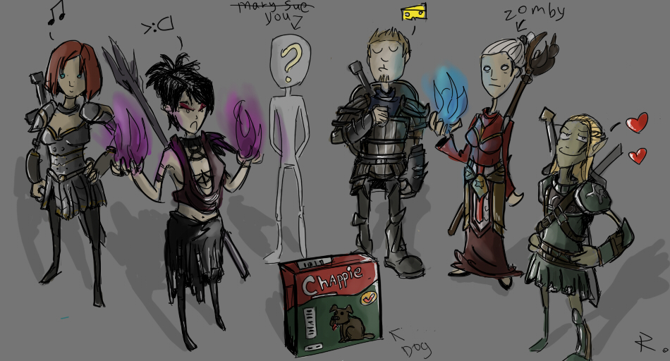 Dragon age by Ayej