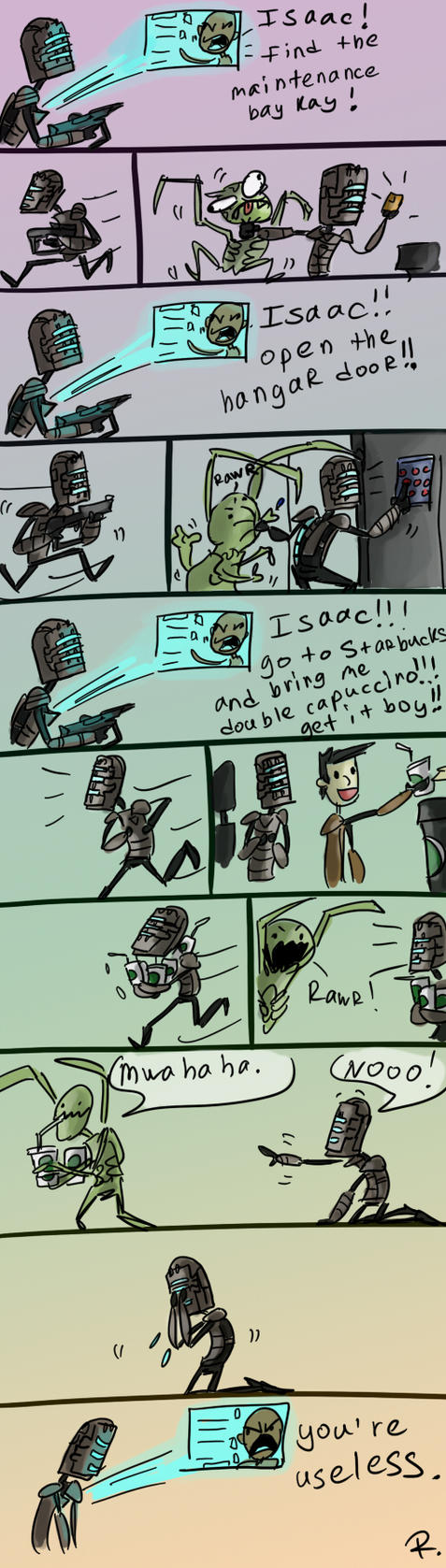 Dead Space, the gameplay by Ayej