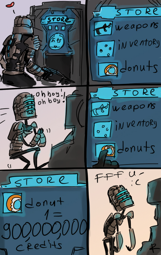 Dead Space, Store by Ayej