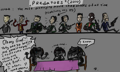Predators, 2010 by Ayej