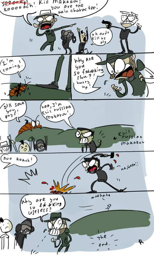 Call Of Duty Mw2 Roach By Ayej On Deviantart