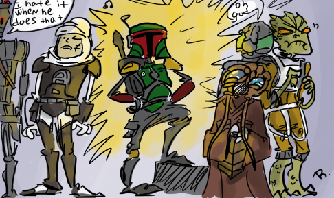 Bounty Hunters, 3 by Ayej