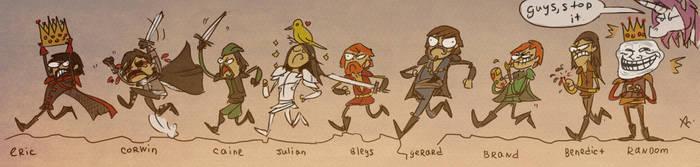 Nine Princes in Amber by Ayej