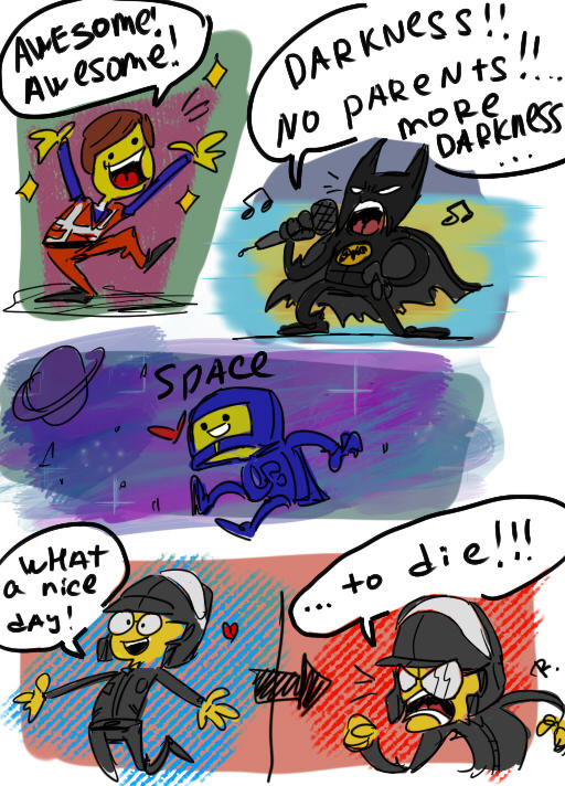 The Lego Movie Doodles By Ayej On Deviantart