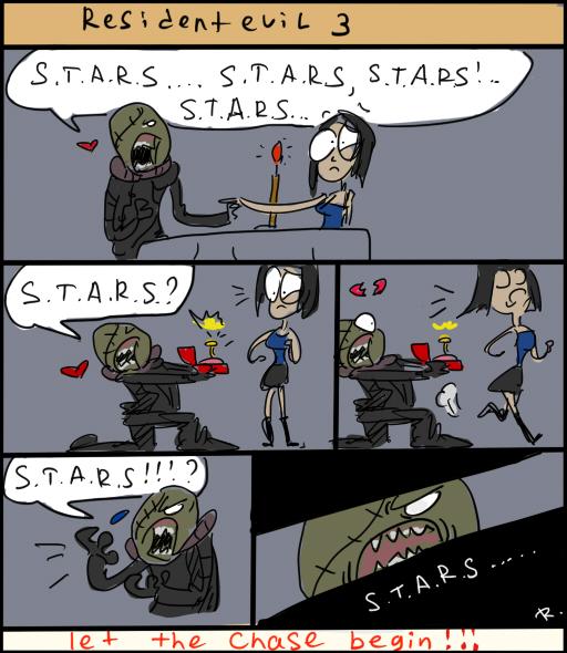 Resident Evil 3: Nemesis by Ayej