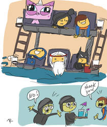 The Lego Movie, doodles 2