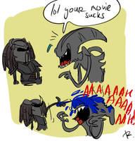 Aliens vs. Predator: Requiem, the movie by Ayej