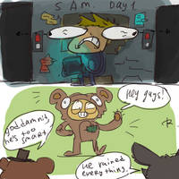 five nights at freddy's, doodles by Ayej