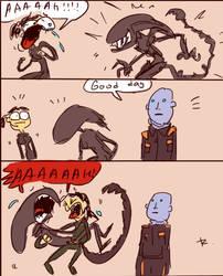 Alien: Isolation, doodles 2