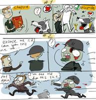 Wolfenstein The Old Blood - doodles 2-3
