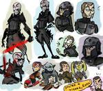 Star Wars Rebels, doodles 2