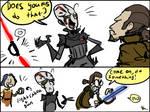 Star Wars Rebels, doodles 3