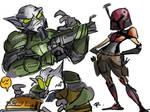 Star Wars Rebels, doodles 5