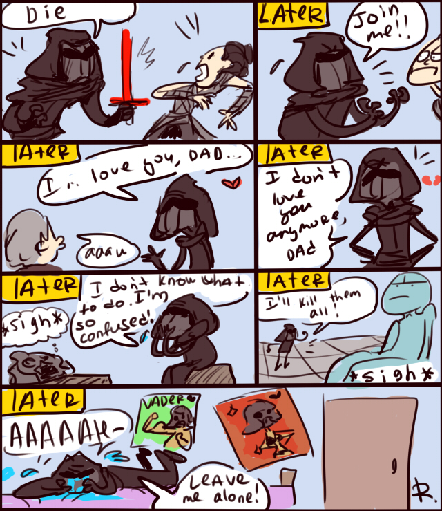 Star Wars The Force Awakens Doodles 6 By Ayej On