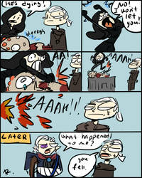 The Witcher 3, doodles 70 by Ayej