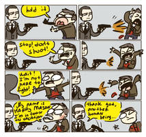 Silent Hill, doodles 11 by Ayej