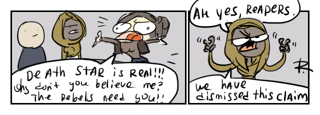 Rogue One, 21 by Ayej
