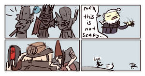The Witcher 3, doodles 214 by Ayej