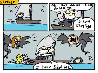 The Witcher 3, doodles 227 by Ayej