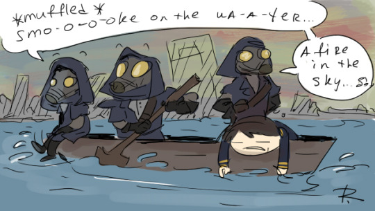 dishonored, doodles 34 by Ayej