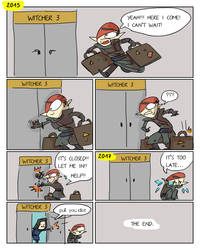 The Witcher 3, doodles 237 by Ayej