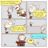 The Witcher 3, doodles 245