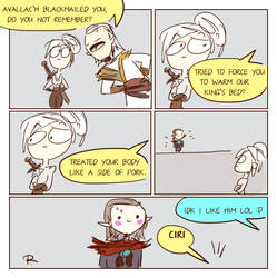 The Witcher 3, doodles 245 by Ayej