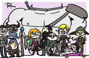 Dragon Age: Inquisition, doodles 27 by Ayej