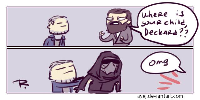 Blade Runner 2049 by Ayej