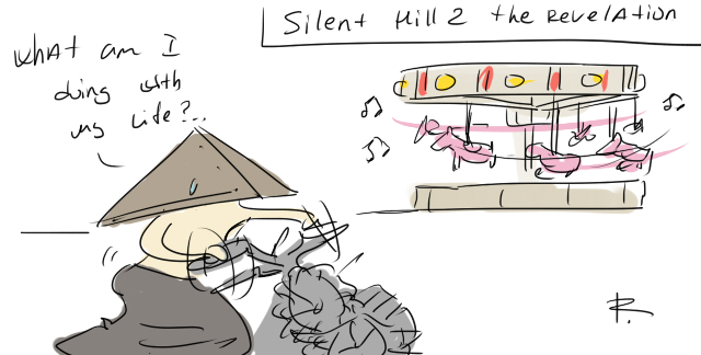 Silent Hill: Revelation, the movie doodles 2 by Ayej