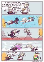 The Witcher 3, doodles 279 by Ayej