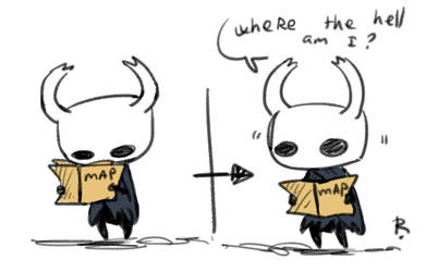 Hollow Knight, doodles 1 by Ayej