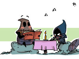 Hollow Knight, doodles 15 by Ayej