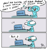 The Witcher 3, doodles 307 by Ayej