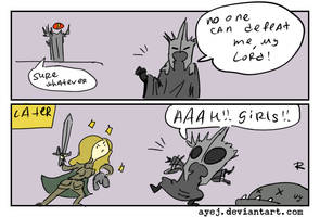 The Lord of the Rings, doodles 11 by Ayej