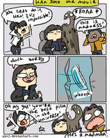 Solo: A Star Wars Story, doodles 3 by Ayej