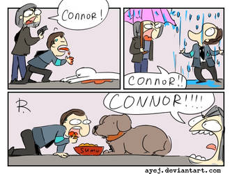 Detroit: Become Human, doodles 8 by Ayej
