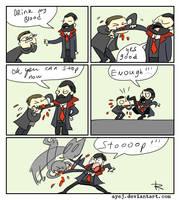 Vampyr, doodles 7 by Ayej